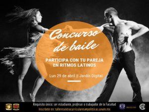 Concurso de Baile @ Jardín Digital de la Facultad de Ciencias Políticas y Sociales | Coyoacán | Ciudad de México | México