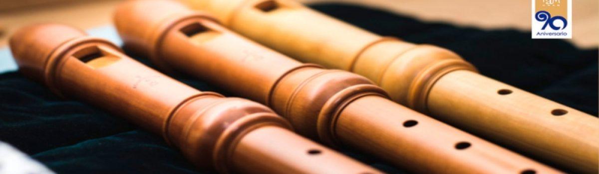 Música francesa, alemana, italiana y estonia para consort de flautas, flauta y bajo continuo