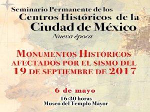 Monumentos históricos afectados por el sismo del 19 de septiembre de 2017 @ Programa Universitario de Estudios sobre la Ciudad | Ciudad de México | Ciudad de México | México