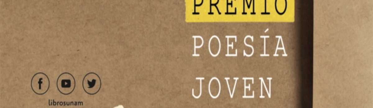 Premio Poesía Joven 2019