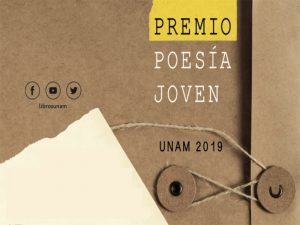 Premio Poesía Joven 2019 @ Coordinación de Difusión Cultural | Ciudad de México | Ciudad de México | México