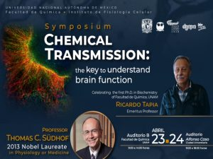 Chemical Transmission: the key to understand brain function @ Auditorio B | Ciudad de México | Ciudad de México | México