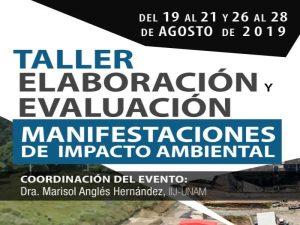 Elaboración y evaluación de las Manifestaciones de Impacto Ambiental. 2019 @ Sala Niceto Alcalá-Zamora Castillo | Ciudad de México | México