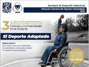 Actividad física para las personas con discapacidad: un derecho, una obligación, una necesidad @ Centro de Estudios del Deporte | Ciudad de México | Ciudad de México | México