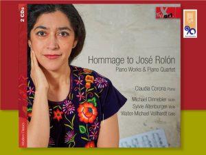Hommage to José Rolón- Piano Works & Piano Quartet @ Sala Huehuecóyotl de la Facultad de Música | Ciudad de México | Ciudad de México | México