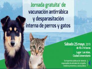 Jornada gratuita de vacunación y despasitación de perros y gatos @ Las Islas | Ciudad de México | Ciudad de México | México