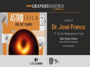 Entre estrellas, galaxias y hoyos negros @ Sala Carlos Chávez del Centro Cultural Universitario   Ciudad de México   Ciudad de México   México