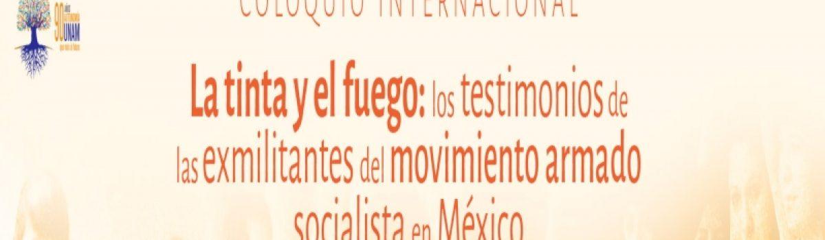 La tinta y el fuego: los testimonios de las exmilitantes del movimiento armado socialista en México