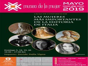 Las mujeres más importantes de la historia de Italia @ Museo de la Mujer | Centro | Ciudad de México | México
