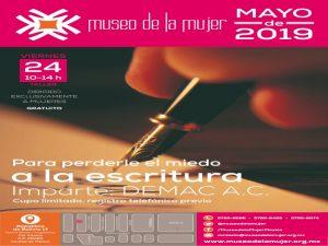 Para perder miedo a la escritura @ Museo de la Mujer | Centro | Ciudad de México | México