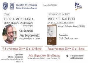 Michael Kalecki, an intellectual biography @ Aula Jesús Silva Herzog | Ciudad de México | Ciudad de México | México
