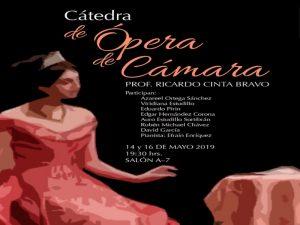 Ópera de Cámara @ Salón A-7 | Ciudad de México | Ciudad de México | México