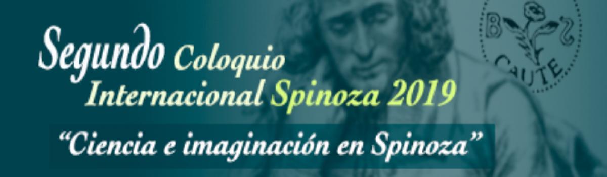 Segundo Coloquio Internacional Spinoza 2019