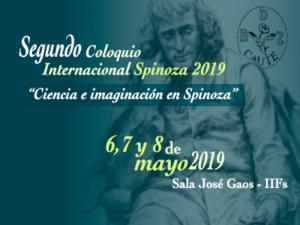 Segundo Coloquio Internacional Spinoza 2019 @ Sala José Gaos, Instituto de Investigaciones Filosóficas | Ciudad de México | Ciudad de México | México