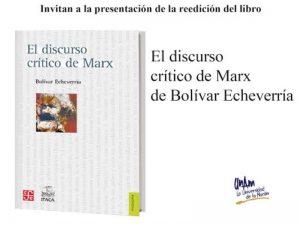El discurso crítico de Marx @ Auditorio Pablo González Casanova | Ciudad de México | Ciudad de México | México