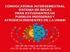 Convocatoria Intersemestral para el Sistema de Becas para Estudiantes de Pueblos Indígenas y Afrodescendientes de la UNAM 2019 @ PUIC UNAM | Ciudad de México | Ciudad de México | México