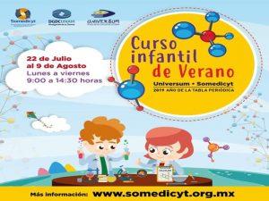 Curso Infantil de Verano DGDC @ Universum   Ciudad de México   Ciudad de México   México