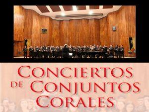 Conjuntos Corales @ Sala Xochipilli | Ciudad de México | Ciudad de México | México