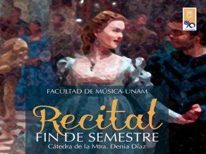 Recital de Fin de Semestre @ Sala A-10 de la Facultad de Música, UNAM | Ciudad de México | Ciudad de México | México