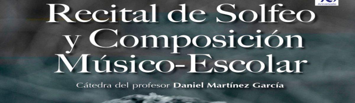 Recital de solfeo y composición. Músico-Escolar