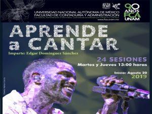 Aprende a cantar @ Facultad de Contaduría y Administración | Ciudad de México | Ciudad de México | México