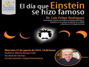 El día que Einstein se hizo famoso @ Auditorio Alberto Barajas Celis | Ciudad de México | Ciudad de México | México
