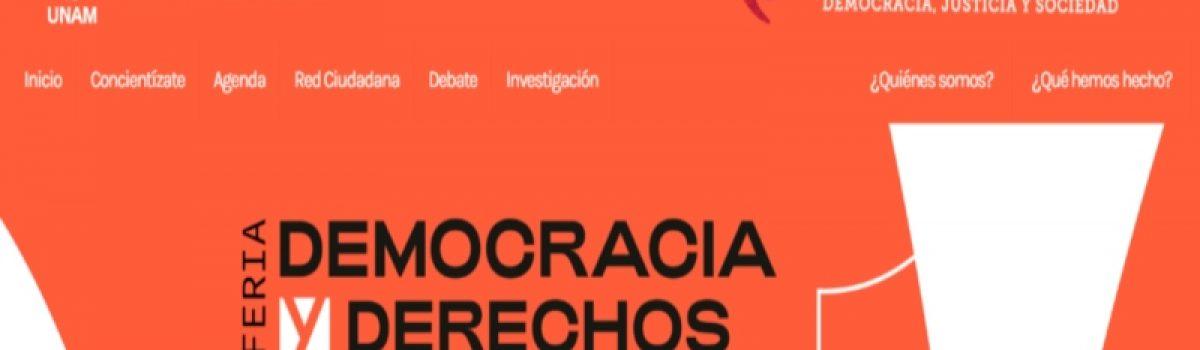 Feria Democracia y Derechos Humanos
