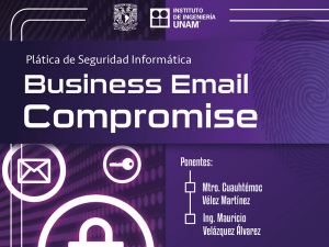 Business Email Compromise @ Instituto de Ingeniería | Ciudad de México | Ciudad de México | México