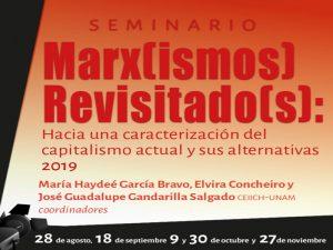 Marx(ismos) Revisitado(s) @ Auditorio del CEIICH | Ciudad de México | Ciudad de México | México