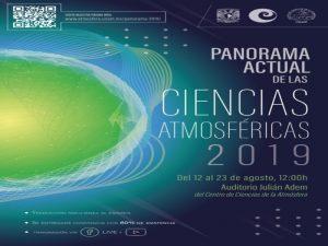Panorama Actual de las Ciencias de la Atmósfera 2019 @ Auditorio Dr. Julián Adem | Ciudad de México | Ciudad de México | México
