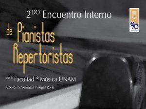2º Encuentro Interno de Pianistas Repertoristas @ Sala Huehuecóyotl | Ciudad de México | Ciudad de México | México
