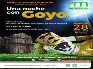 Noche de Museos. Una noche con Goyo @ Palacio de la Escuela de Medicina | Cuauhtémoc | Ciudad de México | México