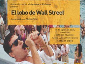 El lobo de Wall Street @ Sala José Revueltas, Centro Cultural Universitario. | Ciudad de México | Ciudad de México | México