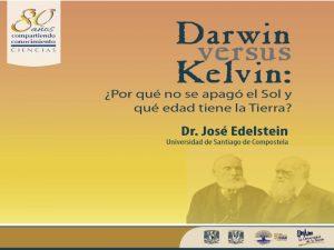 Darwin versus Kelvin: ¿por qué no se apagó el Sol y qué edad tiene la Tierra? @ Auditorio Carlos Graef, Amoxcalli | Ciudad de México | Ciudad de México | México
