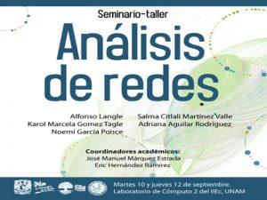 Análisis de Redes @ Instituto de Investigaciones Económicas | Ciudad de México | Ciudad de México | México