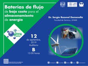 Baterías de flujo de bajo costo para el almacenamiento de energía @ Auditorio B | Ciudad de México | Ciudad de México | México