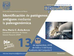 Identificación de patógenos antiguos mediante la paleogenómica @ Auditorio del Conjunto E | Ciudad de México | Ciudad de México | México