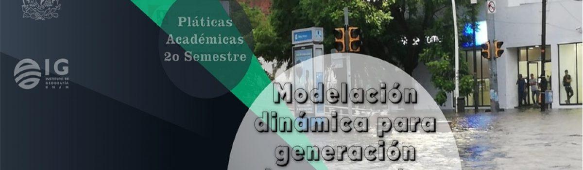 Modelación dinámica para generación de escenarios de peligro hidrológico en cuencas urbanas