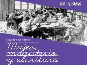 Mujer, magisterio y escritura @ Auditorio Leopoldo Zea | Ciudad de México | Ciudad de México | México