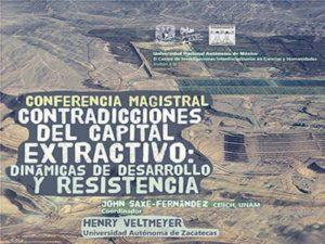 Contradicciones del capital extractivo: dinámicas de desarrollo y resistencia @ Auditorio del CEIICH | Ciudad de México | Ciudad de México | México