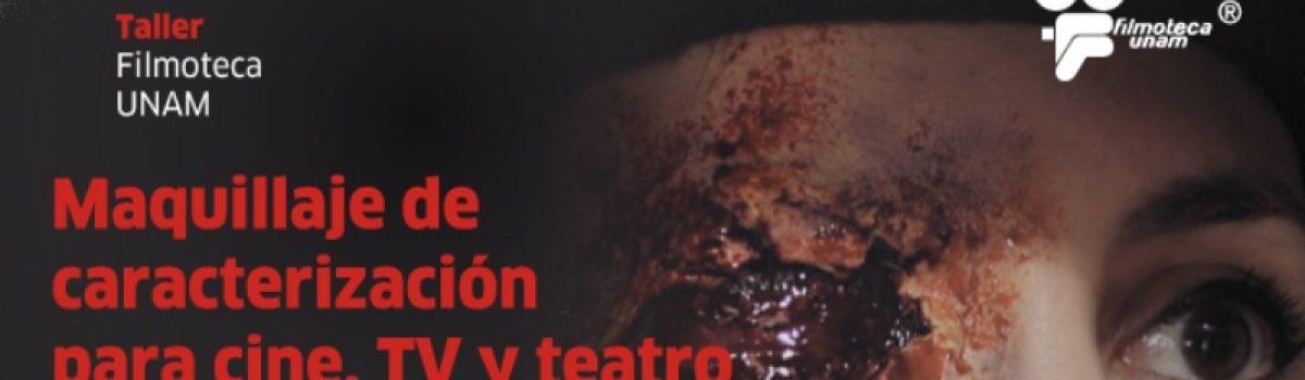 Maquillaje de caracterización para el cine, T.V. y teatro