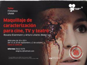 Maquillaje de caracterización para el cine, T.V. y teatro @ Filmoteca UNAM | Ciudad de México | Ciudad de México | México