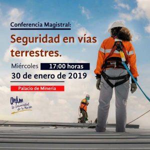 Seguridad en vías terrestres @ Auditorio Bernardo Quintana, Palacio de Minería | Ciudad de México | Ciudad de México | México
