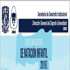 Curso de Natación Infantil 2019 @ Dirección General del Deporte Universitario   | Coyoacan | Ciudad de México | México