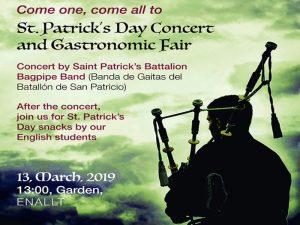 St. Patrick's Day Concert and Gastronomic Fair @ Garden, ENALLT | Ciudad de México | Ciudad de México | México