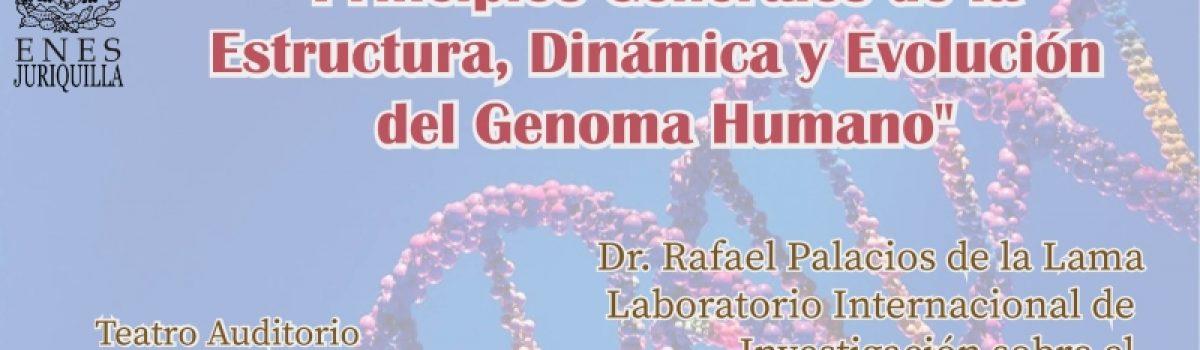 Principios Generales de la estructura, dinámica y evolución del Genoma Humano
