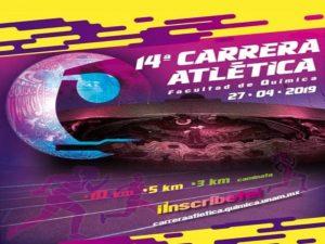 14 Carrera Atlética Facultad de Química @ Estadio Olímpico Universitario | Ciudad de México | Ciudad de México | México