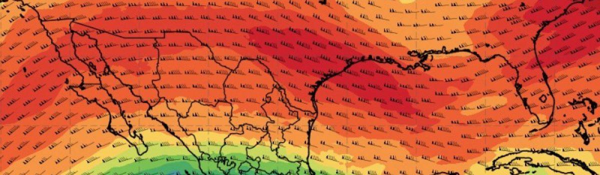 El Atlas de la meteorología sobre el Golfo de México.