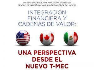 Integración Financiera y Cadenas de Valor: una perspectiva desde el nuevo T-MEC @ Sala de Seminarios del CISAN | Ciudad de México | Ciudad de México | México