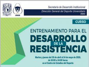 Entrenamiento para el desarrollo de la resistencia @ Centro de Estudios del Deporte | Ciudad de México | Ciudad de México | México
